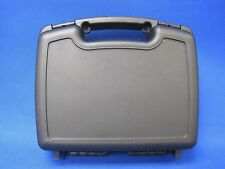Condition 1 Black Hard Plastic Case #699 with Convoluted Foam in Lid and Base
