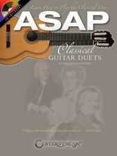 ASAP Classical Guitar Duets Sheet Music Guitar Book and CD NEW 000103849