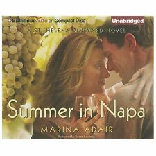 A St. Helena Vineyard Novel: Summer in Napa by Marina Adair (2013, CD,...