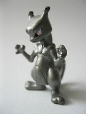 silver MEWTWO MEW TWO stamped Tomy PVC Pokemon figure about 1.75 inches tall