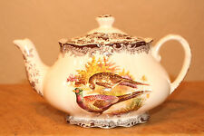 ROYAL WORCESTER PALISSY GAME SERIES TEAPOT