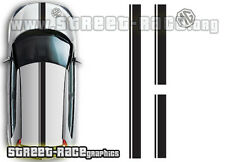 MG3 OTT006 roof, bonnet & rear racing stripes stickers decals graphics vinyl