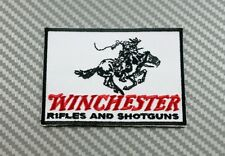 Embroidered Patch Iron Sew WINCHESTER rifles shot Gun Pistol Firearms Weapons