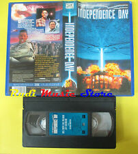 film VHS fantascienza INDEPENDENCE DAY Will Smith 20Th FOx 1996  (F13***) no dvd