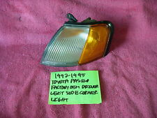 1992-1995 TOYOTA PASEO FACTORY OEM DRIVERS LEFT SIDE CORNER LIGHT FREE SHIPPING!