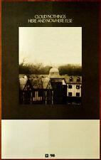 CLOUD NOTHINGS Here And Nowhere Else 2014 Ltd Ed RARE Poster +FREE Indie Poster!