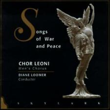 Songs of War & Peace by Chor Leoni Men's Choir