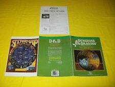 CM7 THE TREE OF LIFE DUNGEONS & DRAGONS TSR 9166 - 4 COMPANION MODULE