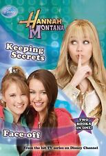 2 Book s in 1 Hanna Montana KEEPING SECRETS & FACE OFF Disney Press BRAND NEW