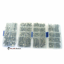 Kit Set M3 M4 M5 M6 Surtidos A2 Acero Inoxidable Hexagonal Hex Set Bolt & NUTS