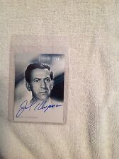 Autograph Trading card for the TV show The Twilight Zone Jack Klugman