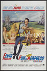 ELVIS PRESLEY - FUN IN ACAPULCO - HIGH QUALITY VINTAGE MOVIE/MUSIC POSTER