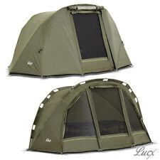 Bivvy + Überwurf / Carp Tent + Winterskin / Lucx® Puma Angelzelt / Karpfenzelt