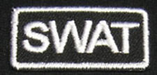 SWAT Iron-on Patch/Badge S.W.A.T. For T-Shirt Cap Vest Mask Uniform Glove 25P