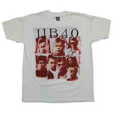 UB40 Shirt vintage Tshirt 1988 World Tour 1980s Concert Tee Rare Red Wine