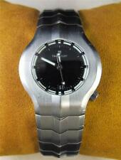 Tag Heuer Alter Ego Ladies Watch WP1310 Stainless Steel Black Dial Swiss Quartz