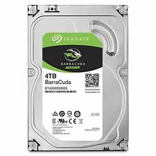Seagate 4TB BarraCuda SATA 6Gb/s 64MB Cache 3.5-Inch Internal HDD (ST4000DM005)
