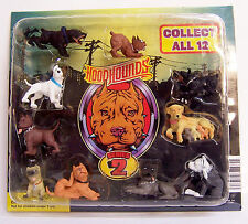 PIT BULL Hood Hounds Series 2 Dogs Figures Figurine Diorama Vending Display RARE