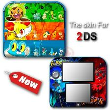 Pokemon X Y XY NEW SKIN VINYL Protected  STICKER DECAL COVER #2 for Nintendo 2DS