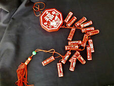 CHINESE 58cm RED FIRE CRACKERS SHOP NEW YEAR XMAS PARTY DECO -- NO GUN POWDER!!