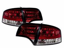 For Audi A4/S4 RS4 2005-2008 B7 8E 4D Sedan LED Tail Light Rear Lamp Red/Clear