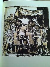 Ice Cream Kids by Brangwyn Special Print for Art Studio Mag 1933 Ideal to Frame