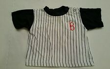 Boston Red Sox Shirt Pinstripe Infant Top Size 12 mos stitched logo