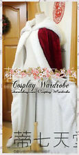 Fate Stay Night Saber Cosplay Costume Cape Red Knight Nero berber Fleece