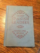 Graded Spanish Readers Books One to Five Vintage