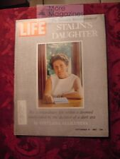 LIFE September 15 1967 9/15/67 SVETLANA STALIN MARK SPITZ EXPO 67