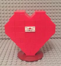 Lego New MOC Red Heart Box / Custom Valentine's Love Display Gift Set