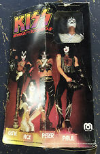 1978 KISS Mego dolls Original Simmons Stanley Criss Frehley OPEN WITH BOXES