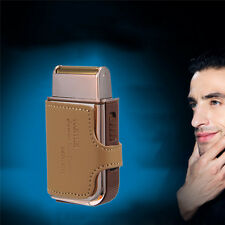 Electric Shavers Rechargeable Shaver Men Electric Shaving Machine leather case