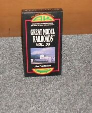 Great Model Railroads, VOL. 35  Allen Keller Productions VHS