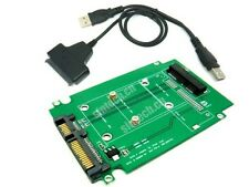 SATA adapter for Mini PCI-e SATA SSD from Asus EEE PC 900/900A/901 +USB Cable