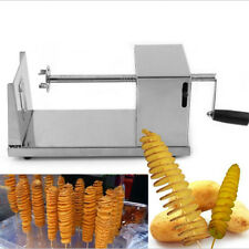 Electric Potato Tornado Slicer Automatic Cutter Machine