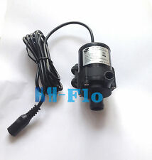 New 10L/min 12V DC Mini Brushless Motor Submersible Water Pump  3.3M Amphibious
