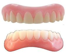 Instant Smile Teeth LARGE top & BOTTOM SET Veneers Fake Cosmetic Photo Perfect