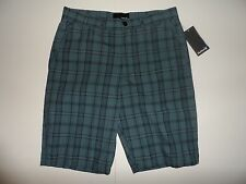NWT MENS HURLEY SHORTS STYLE: MWS0002440 ZURICH SIZE: 28 COLOR: BLUE/BLACK NICE