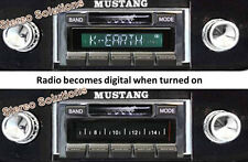 1967-1973 Ford Mustang NEW USA-630 II 300 watt AM FM Stereo Radio iPod USB Aux