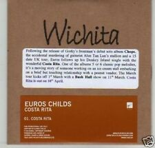 (G285) Euros Childs, Costa Rita - DJ CD