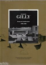 Friedrich GILLY - Essays on Architecture 1796-1799