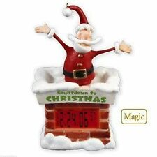 HALLMARK 2010   COUNTDOWN DIGITAL CLOCK  CHRISTMAS DAY TO THE LAST SECOND    BSW