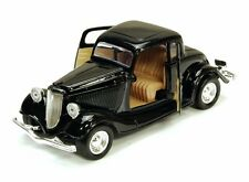 1934 Ford Coupe, Black - Showcasts 73217 - 1/24 Scale Diecast Model Car
