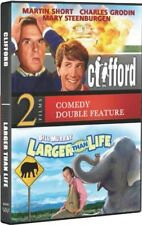 CLIFFORD + LARGER THAN LIFE New DVD Double Feature Martin Short Bill Murray