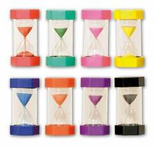 8 x Large Sand Timers Special needs autism 16cm 1,2,3,5,10,20,30,45,60 minute