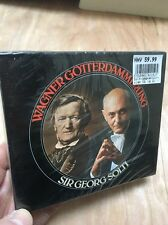 Wagner:Gotterdammerung George Solti 4xCD New+Sealed Wiener Philharmonic Nilsson