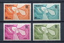 36475) HAITI 1963 MNH** FAO Fighting againt hunger 4v.
