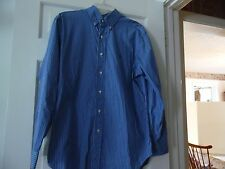 RALPH LAUREN LONG SLEEVE BUTTON UP  CLASSIC FIT SHIRT WITH PONY LOGO, SIZE 15.5