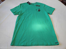 Men's Volcom t shirt Gummy Stone short sleeve kelly green surf skate small S NEW